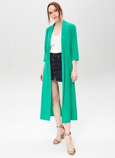 New Laviva Ceket Yeşil